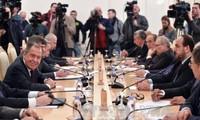 Verhandlungen zwischen Russland und der Opposition in Syrien