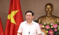 Vize-Premierminister Vuong Dinh Hue leitet Sitzung der Abteilung für Preiskontrolle