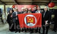 Vietnam nimmt am 1. Parteitag der Kommunistischen Partei Italiens teil