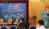 Vietnam soll eine entsprechende Politik ergreifen, um Sharing Economy zu fördern