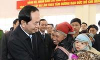 Staatspräsident Tran Dai Quang überreicht Militärorden zum Tag der gefallenen Soldaten