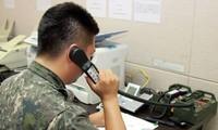 Süd- und Nordkorea nehmen die Militär-Hotline im Westen vollständig wieder auf