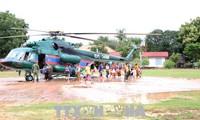 Vietnam engagiert sich für die Beseitigung der Dammbruchfolgen im laotischen Attapeu