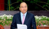 Premierminister Nguyen Xuan Phuc führt Arbeitstreffen mit Leitern der Provinz Lam Dong