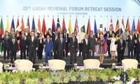 ARF 25: Aufbau des Vertrauens und der präventiven Diplomatie, um mit Herausforderungen vorzugehen