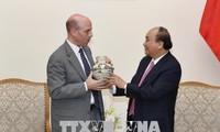 Premierminister Nguyen Xuan Phuc empfängt Exekutivdirektor für Asien, Nahost und Nordafrika von Peps