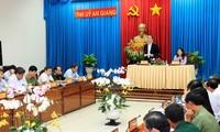 Staatspräsident Tran Dai Quang: Wachstum der Provinz An Giang soll dem nationalen Durchschnitt entsprechen
