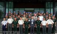 Austausch von Fachkenntnissen in der UN-Friedensmission zwischen Vietnam und Japan verstärken