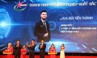 Vize-Premierminister Truong Hoa Binh nimmt an der Landeskonferenz des Verbands der jungen Unternehmer teil
