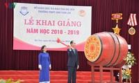 Mehr als 23 Millionen Schüler und Studenten in Vietnam beginnen das neue Schuljahr