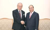 Premierminister Nguyen Xuan Phuc empfängt Berater der Japan-Vietnam-Abgeordnetengruppe