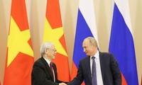 Gemeinsame Erklärung über den Russland-Besuch des KPV-Generalsekretärs
