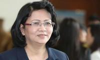 Dang Thi Ngoc Thinh übernimmt den Posten als vietnamesische Interimstaatspräsidentin