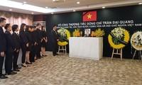 Tätigkeiten zum Andenken an Staatspräsident Tran Dai Quang im Ausland