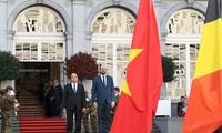Premierminister Nguyen Xuan Phuc besucht offiziell Belgien