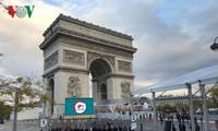 Frankreich begeht 100. Jahrestag des Endes des Ersten Weltkrieges