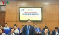 Vize-Premierminister Vuong Dinh Hue fordert die Errichtung des Netzwerks der Finanzideen