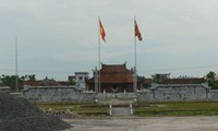 Tempel für Khuc Thua Du – Nationalgedenkstätte in Ninh Giang