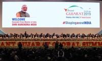 Eröffnung des globalen Geschäftsgipfels 2019 in Indien