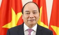 Premierminister Nguyen Xuan Phuc trifft Nepals Regierungschef