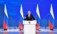 Rede an die Nation: Lösung der ausstehenden Probleme Russlands