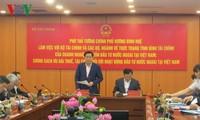 Vize-Premierminister Vuong Dinh Hue: Ausländische Investoren bevorzugen und zugleich Einnahme des Staatshaushalts garantieren
