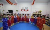 Kindergarten Viet – Trieu, Symbol für die Beziehung zwischen Vietnam und Nordkorea