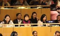 Vietnam organisiert Ereignis bei der UNO über den Beitrag der Frauen im Industriebereich