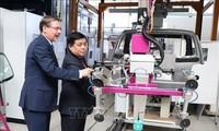 Förderung der Zusammenarbeit im Bereich der Wissenschaft und Technologie zwischen Deutschland und Vietnam