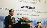 Vize-Premierminister Vuong Dinh Hue nimmt an Seminar zum Wachstumsmodell teil