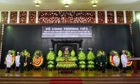 Trauerzeremonie für Generalleutnant Dong Sy Nguyen