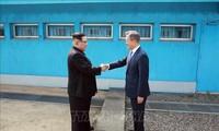 Unterschiedliche Botschaft von Süd- und Nordkorea zum 1. Jahrestag des Treffens zwischen den Staatschefs beider Länder