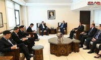 Nordkorea fördert die Zusammenarbeit mit Syrien