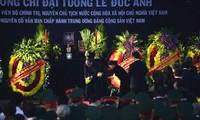 Beisetzung des ehemaligen Staatspräsidenten Le Duc Anh
