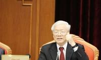 10. Sitzung des KP-Zentralkomitees eröffnet