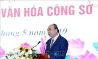 Premierminister Nguyen Xuan Phuc startet die Kampagne zur Umsetzung der Bürokultur