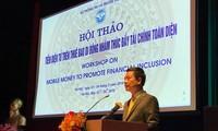 Bereitstellung elektronischer Gelder für Mobilfunkteilnehmer, um die finanzielle Eingliederung in Vietnam zu fördern