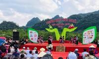 Fest der Obsternte in Moc Chau