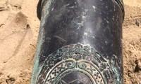 200 Jahre alte Kanone in Da Nang entdeckt