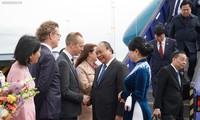 Premierminister Nguyen Xuan Phuc beginnt seinen Besuch in Schweden