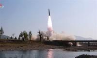 Die USA, Japan und Südkorea rufen Nordkorea zu Verhandlungen auf