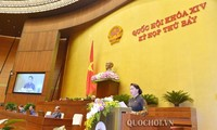 Abschluss der 7. Parlamentssitzung