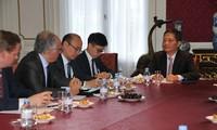 Europäische Unternehmen unterstützen die baldige Unterzeichung des Freihandelsabkommens mit Vietnam