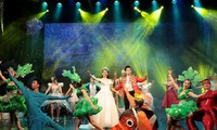 """Vorführung des Theaterstücks """"Traum der Meerjungfrau"""""""