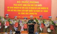 Vietnam verstärkt weitere sieben Offiziere für UN-Friedensmission
