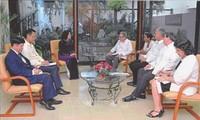 Vize-Staatspräsidentin Dang Thi Ngoc Thinh besucht Kuba