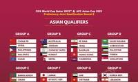 Auslosung der zweiten WM - Qualifikationsrunde 2022 in Asien
