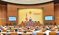 국회, 3개 법안 표결 통과 및 2개 법안 토의