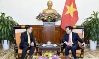 팜 빈 민 부총리, 태국 대사 접견