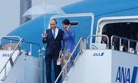 응우옌 쑤언 푹 총리 오사카 방문, G20정상회의 활동 시작